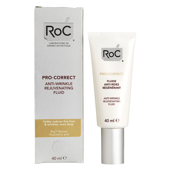 RoC Pro-Correct Anti-Wrinkle Rejuvenating Fluid - 40ml