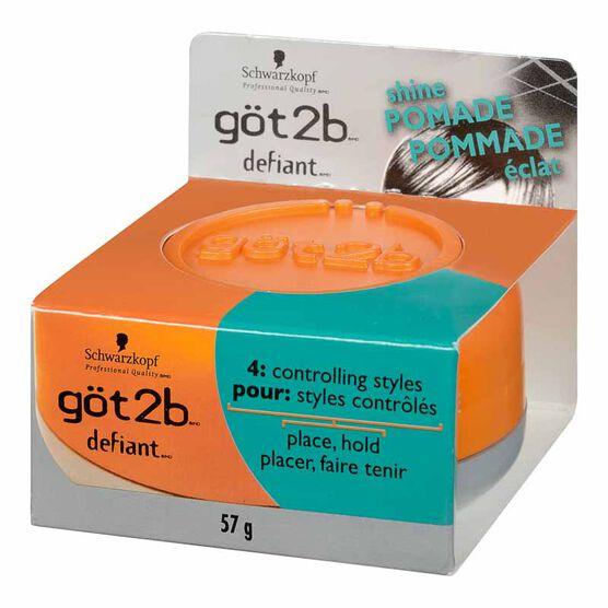 göt2b Defiant Define and Shine Pomade - 55g