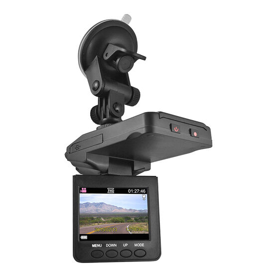 Flip HD Dash Cam - Black - EK770CAM