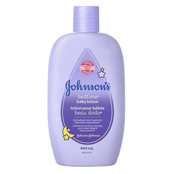 Johnson & Johnson Bedtime Lotion - 444ml