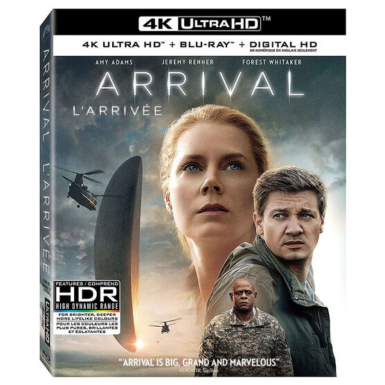 Arrival - 4K UHD Blu-ray