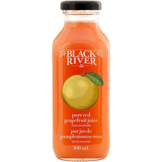 Black River Pure Red Grapefruit Juice - 300ml