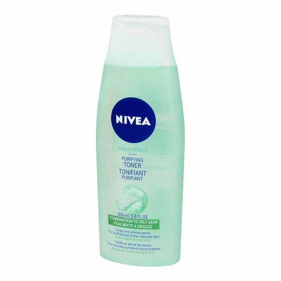 Nivea Visage Aqua Effect Purifying Toner - 200ml