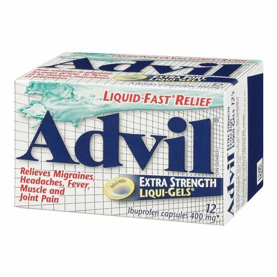 Advil Extra Strength Liqui-Gels - 12's