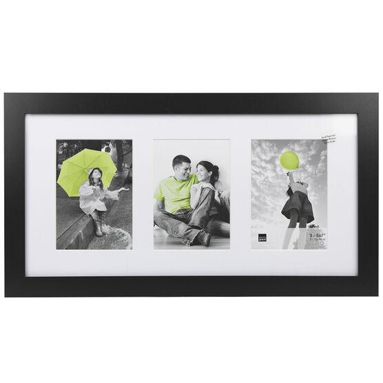KG Langford Black Collage Frame - 3-5x7 - PH43263-6