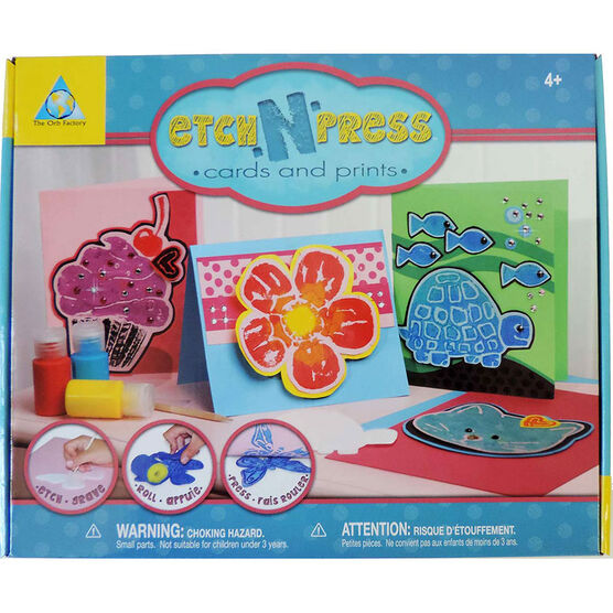 Etch n' Press Cards and Prints