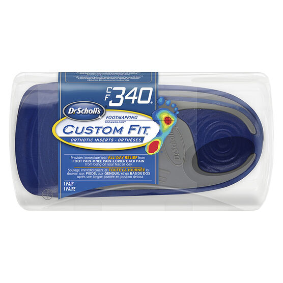 Dr. Scholl's Custom Fit Orthotic Insoles - CF340 - M14/W11.5+