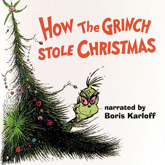 Dr. Seuss: How the Grinch Stole Christmas (TV) - Soundtrack - CD