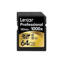 Lexar Professional 1000X - 64GB SDXC - LSD64GCRBNA1000