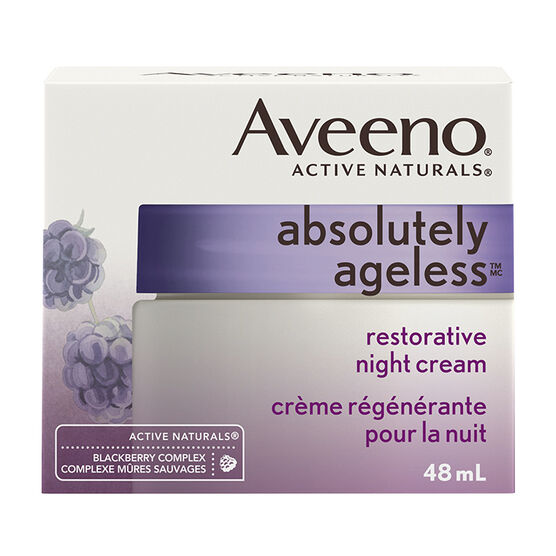 Aveeno Active Naturals Absolutely Ageless Restorative Night - 48ml