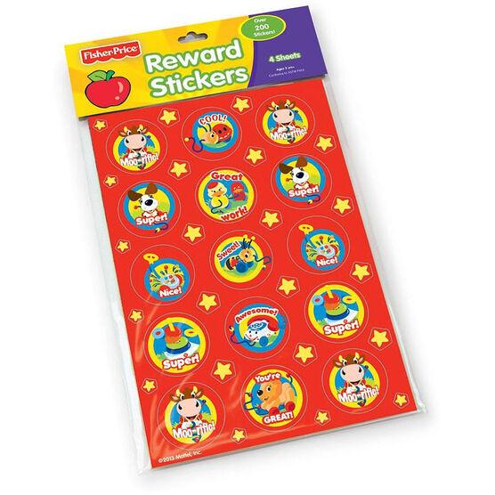 Fisher Price Reward Stickers - 4 Sheets