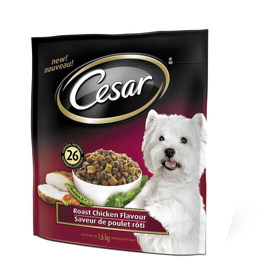 Cesar Dry Dog Food - Roast Chicken - 1.6kg