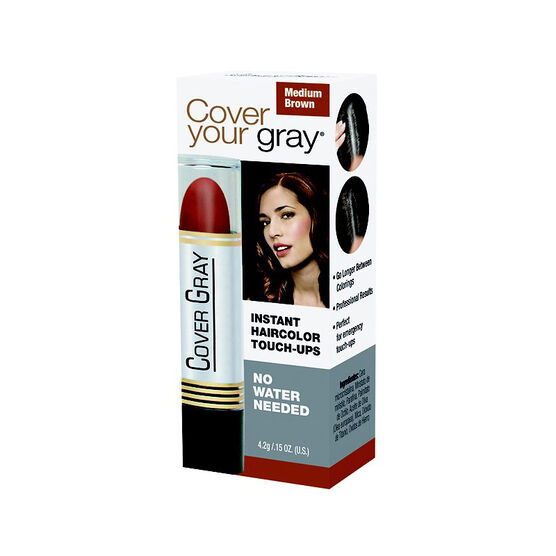 Cover Your Gray Mini Touch Up Stick - Medium Brown