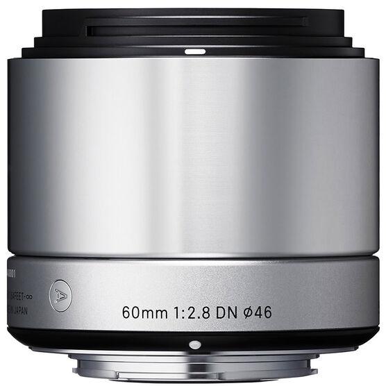 Sigma Art 60mm F2.8 DN Silver Lens for Sony NEX - A60DNSRSE