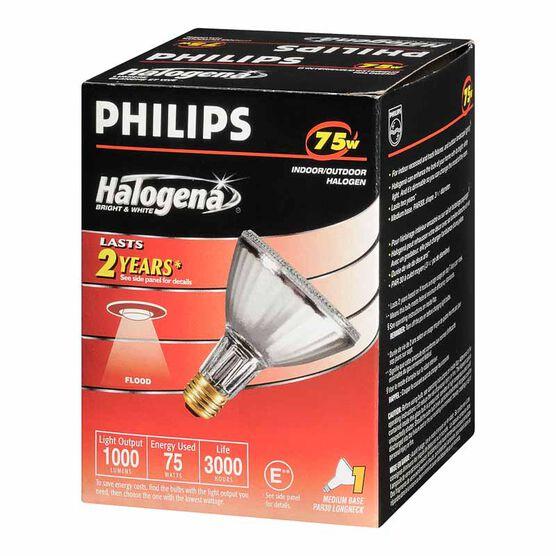 Philips 75W PAR30 Halogena Flood Light Bulb - 160010