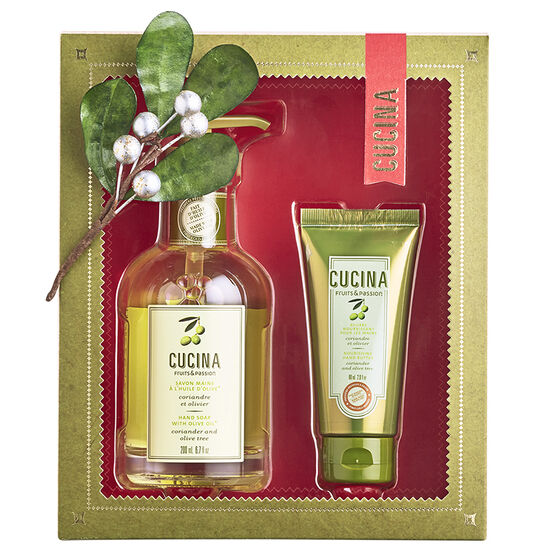 Fruits & Passion Cucina Hand Duo - Coriander and Olive Tree - 2 piece