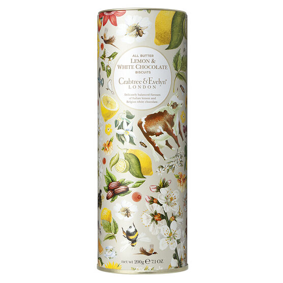 Crabtree & Evelyn All Butter Lemon & White Chocolate Biscuits - 200g
