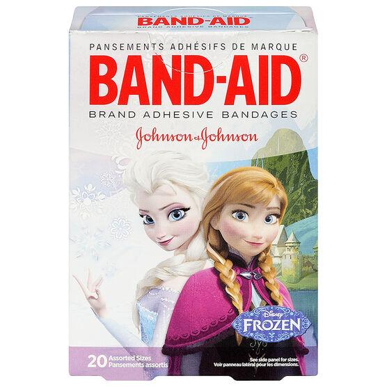 Johnson & Johnson Band-Aid - Disney Frozen - 20's