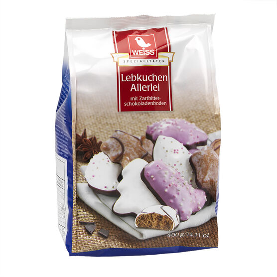 Weiss Lebkuchen Allerlei - 400g