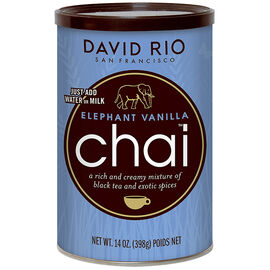 David Rio Chai Tea - Elephant Vanilla - 398g
