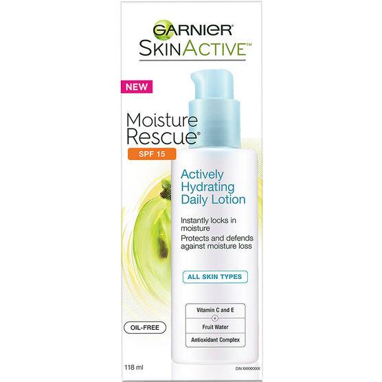 Garnier SkinActive Moisture Rescue Lotion - SPF 15 - 118ml