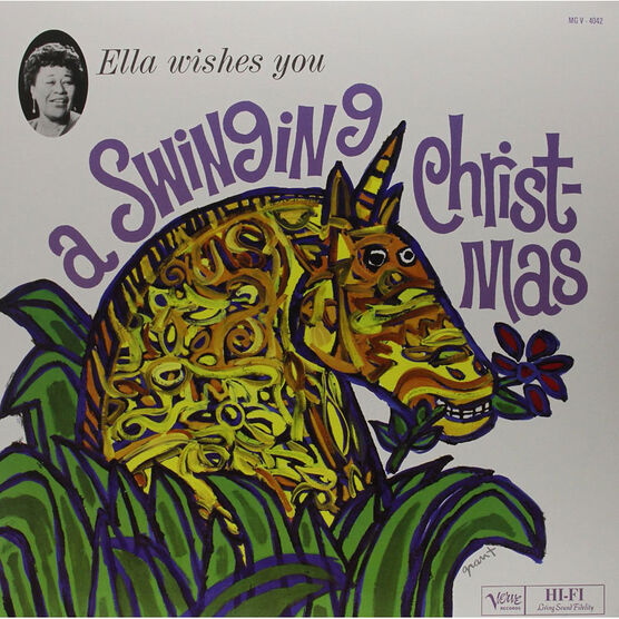 Ella Fitzgerald - Wishes You A Swinging Christmas - Vinyl