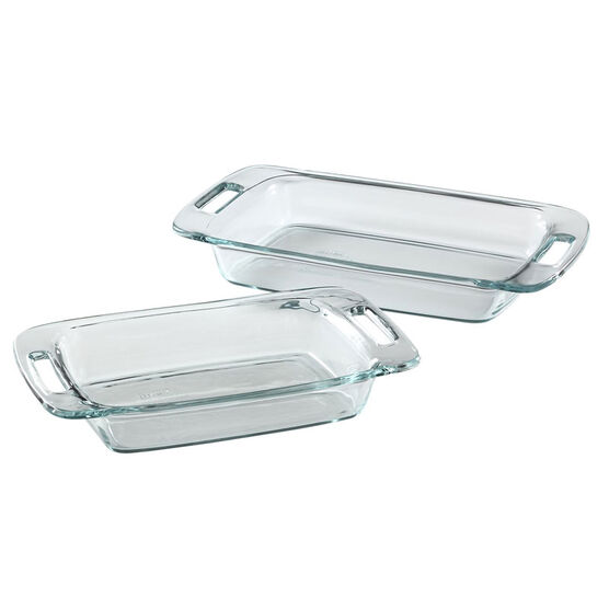 Pyrex Easy Grab Oblong Baking Dish Value Pack - 2 piece