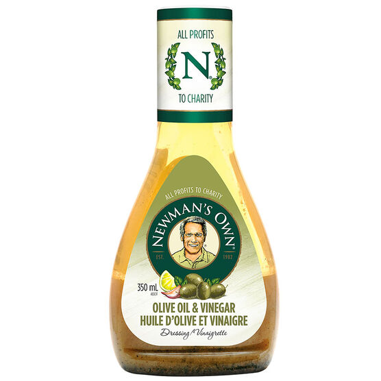 Newman's Own Olive Oil & Vinegar Dressing - 350ml
