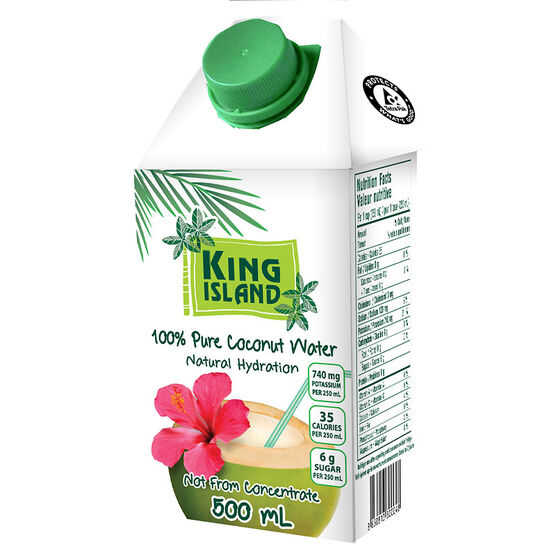 King Island Coconut Water - 500ml