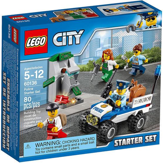 Lego City Police Starter Set - 60136