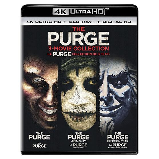 The Purge 3-Movie Collection - 4K UHD Blu-ray