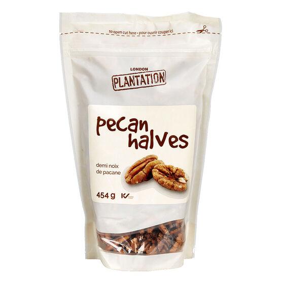 London Plantation Pecan Halves - 454g