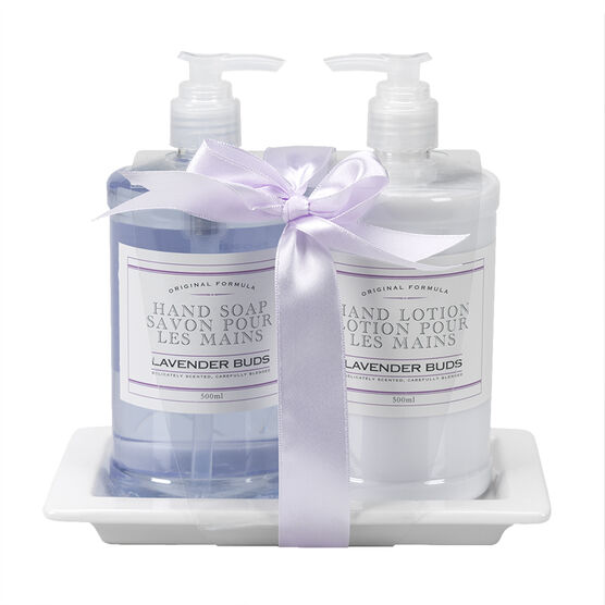 The Kitchen Kit Hand Care Set - Lavender Buds - 3 piece