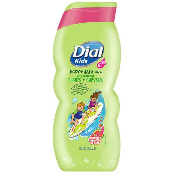 Dial Kids Body + Hair Wash - Watery Melon - 355ml