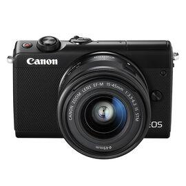 PRE-ORDER: Canon EOS M100 EF-M 15-45mm IS STM Kit - Black - 2209C011