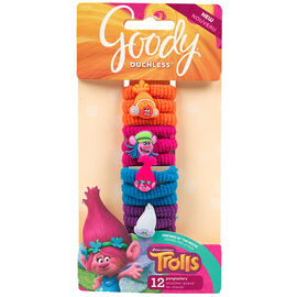 Goody Ouchless Ponytailers - Trolls - 12's