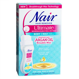 Nair Ultimate Microwave Roll-On Wax Hair Remover - Body - 110g