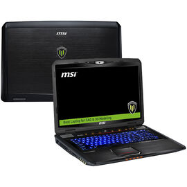 MSI WT70 20K-2277US 17.3inch Notebook - Black