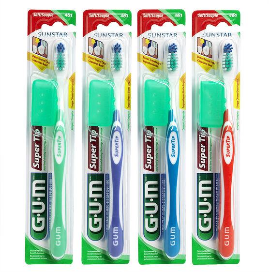 G.U.M. Super Tip Compact Head Toothbrush - Soft