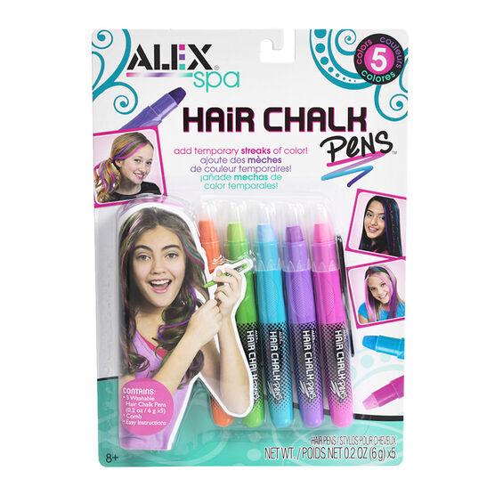 Alex Hair Chalk Pens - 5 pack