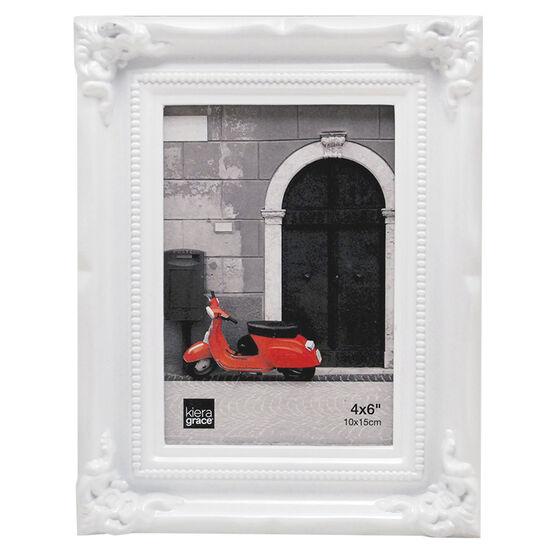KG Georgia White Frame - 4X6