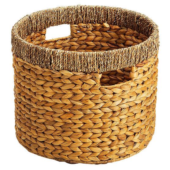 London Drugs Water Hyacinth Seagrass Round Basket - Large