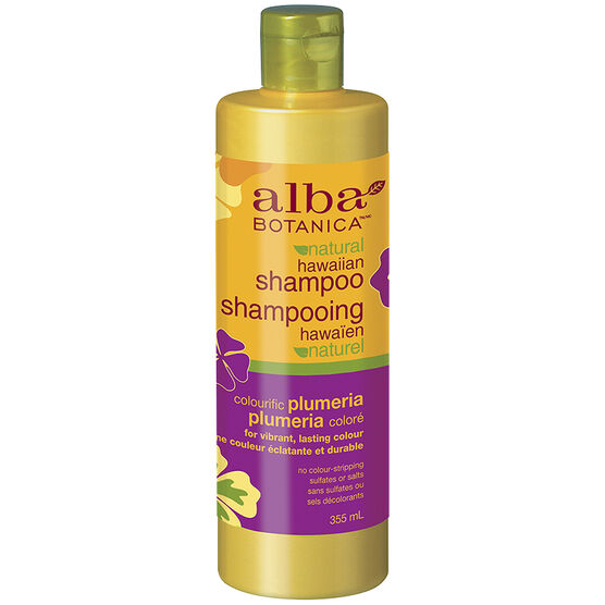 Alba Botanica Natural Hawaiian Shampoo - Colouriffic Plumeria - 355ml
