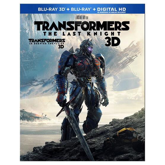 Transformers: The Last Knight - 3D Blu-ray + DVD Combo