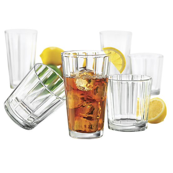 Libbey Abacus Beverage Set - 16 piece