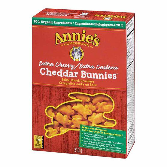 Annie's Extra Cheesy Cheddar Bunnies - 213g