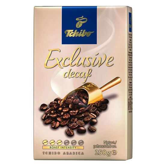Tchibo Exclusive Coffee - Decaf - 250g