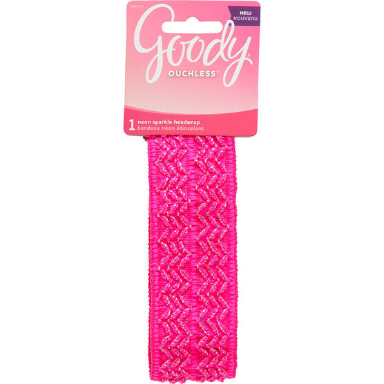 Goody Ouchless Neon Sparkle Headwrap - 8775