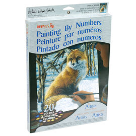 Reeves Paint by Numbers - Fox