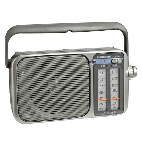 Panasonic AM/FM Portable Radio - RF2400